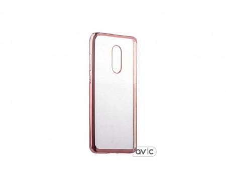 Бампер для Xiaomi Redmi Note 4 (Rose Gold)