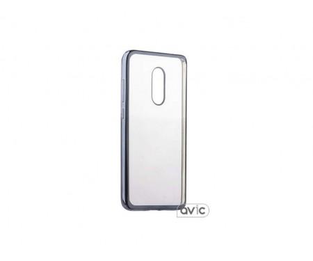 Бампер для Xiaomi Redmi Note 4 (Silver)