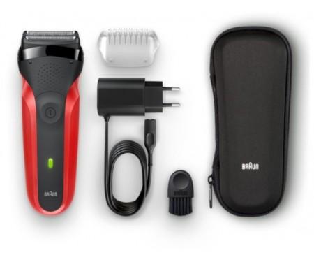 Электробритва мужская Braun Series 3 300TS Red