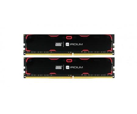 Модуль DDR4 2x4GB/2400 GOODRAM Iridium Black (IR-2400D464L15S/8GDC)