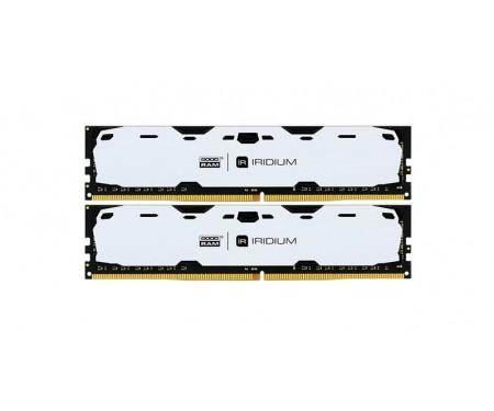 Модуль DDR4 2x8GB/2400 GOODRAM Iridium White (IR-W2400D464L15S/16GDC)