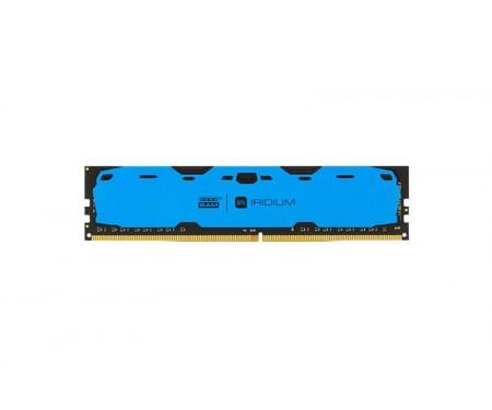Модуль DDR4 4GB/2400 GOODRAM Iridium Blue (IR-B2400D464L15S/4G)