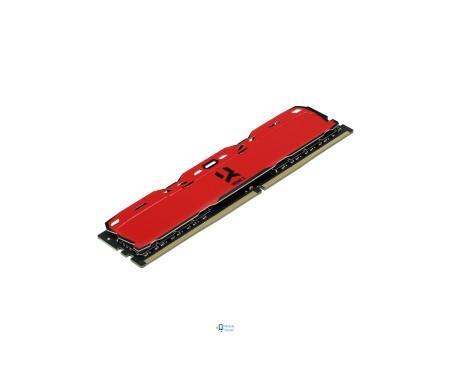 Модуль DDR4 8GB/3000 GOODRAM Iridium X Red (IR-XR3000D464L16S/8G)