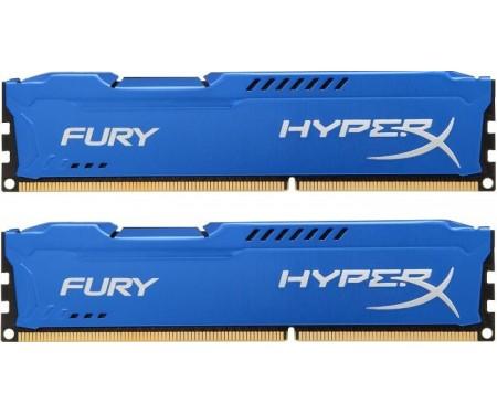 Модуль DDR3 2x8GB/1600 Kingston HyperX Fury Blue (HX316C10FK2/16)
