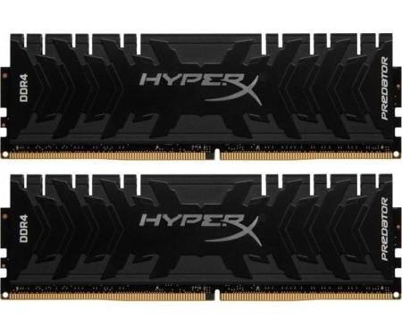 Модуль DDR4 2x8GB/3600 Kingston HyperX Predator Black (HX436C17PB3K2/16)