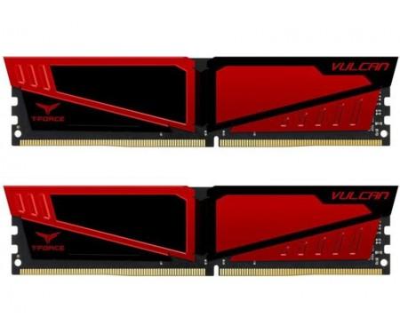 Модуль DDR4 2x16GB/2400 Team T-Force Vulcan Red (TLRED432G2400HC15BDC01)