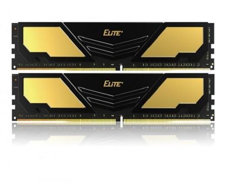 Модуль DDR4 2x8GB/2400 Team Elite Plus Black (TPD416G2400HC16DC01)