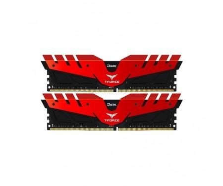 Модуль DDR4 2x8GB/3200 Team T-Force Dark Red (TDRED416G3200HC16CDC01)