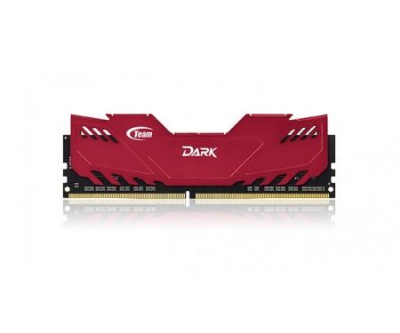 Модуль DDR4 4GB/2400 Team T-Force Dark Red (TDRED44G2400HC1401)