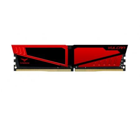 Модуль DDR4 4GB/2400 Team T-Force Vulcan Red (TLRED44G2400HC1401)