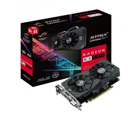 Видеокарта ASUS Radeon RX 560 4096Mb ROG STRIX GAMING (ROG-STRIX-RX560-4G-GAMING)