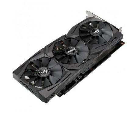 Видеокарта ASUS Radeon RX 580 8192Mb ROG STRIX GAMING TOP (ROG-STRIX-RX580-T8G-GAMING)