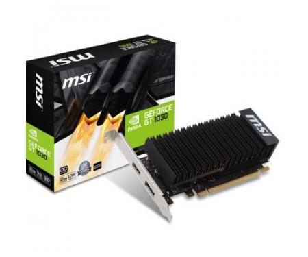 Видеокарта MSI GeForce GT1030 2048Mb Silent OC (GT 1030 2GH LP OC)