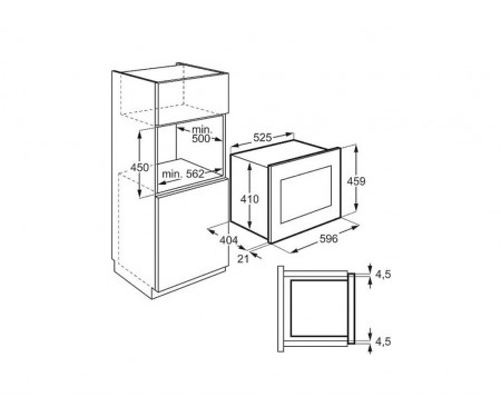 Микроволновая печь AEG MBE2658S-M