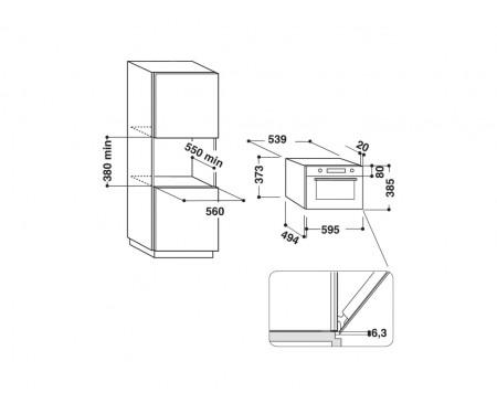 Микроволновая печь Hotpoint-Ariston MD764WHHA
