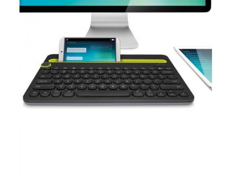 Клавиатура Logitech Bluetooth Multi-Device Keyboard K480 Black (920-006368)