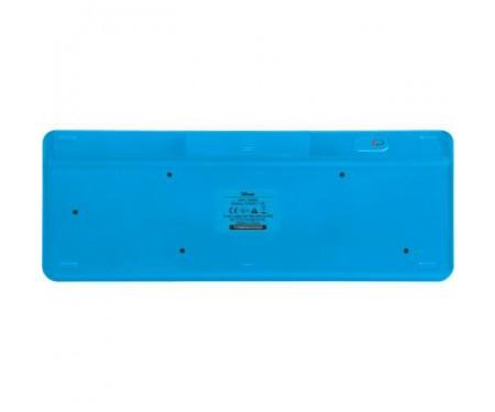 Клавиатура Trust Veza wireless touchpad UKR (21627)