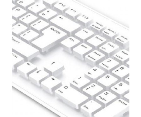 Клавиатура Genius SlimStar 130 White USB Ru (31300726104)