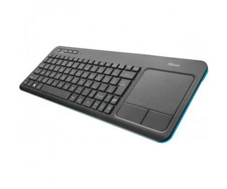 Клавиатура Trust Veza wireless touchpad RU (21469)