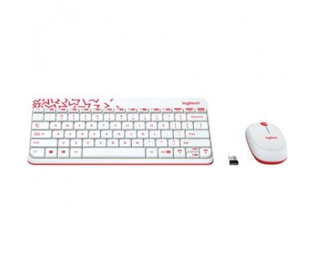 Комплект Logitech Wireless Combo MK240 Ru White (920-008212)