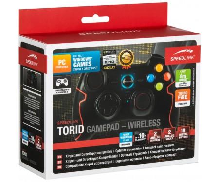 Геймпад Speedlink TORID Gamepad - Wireless - for PC-PS3 (SL-6576-BK-02)