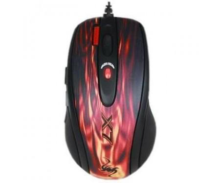 Мышь A4tech XL-750BK red fire