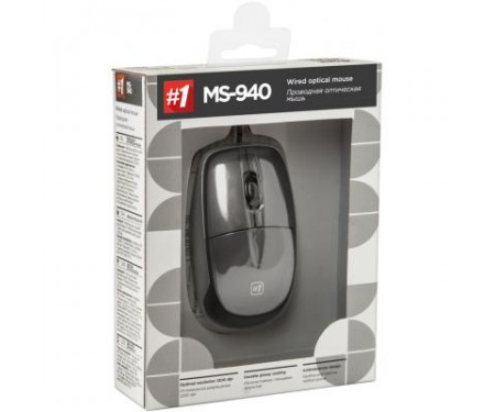 Мышь Defender Optimum MS-940 USB silver (52942)