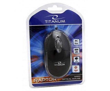 Мышь Esperanza Titanum TM102K Black