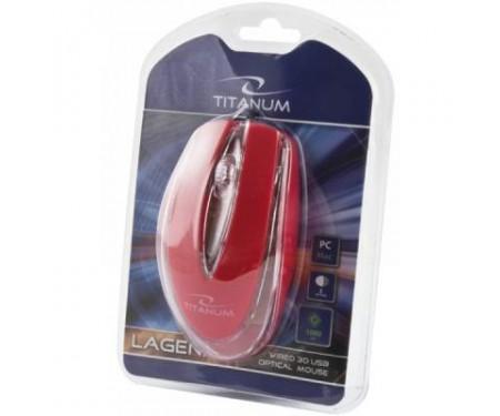Мышь Esperanza Titanum TM111R Red