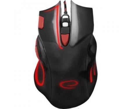 Мышь Esperanza MX401 Hawk black-red (EGM401KR)