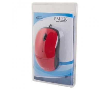 Мышь GEMIX GM120 red