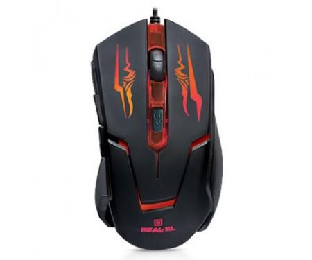 Мышь REAL-EL RM-520 Gaming Black (EL123200020)
