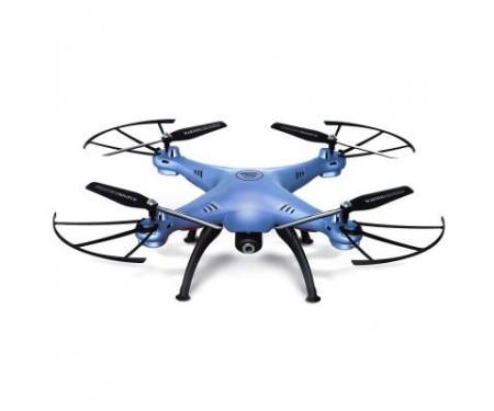 Квадрокоптер Syma X5HW 330мм HD WiFi камера голубой (45079)