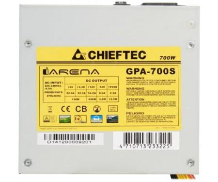 Блок питания Chieftec 700W (GPA-700S)