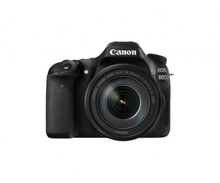 Canon EOS 80D kit (18-135mm) IS USM
