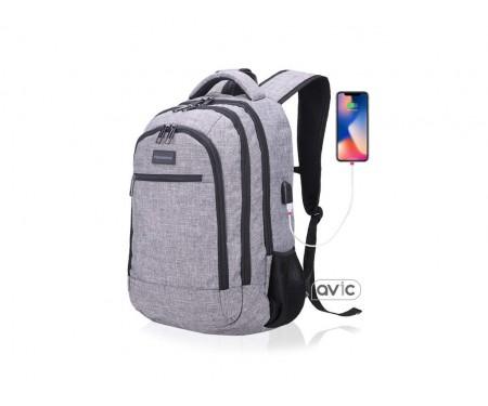 Hanxiema Travel Backpack (Hxm-01-1) Light Grey