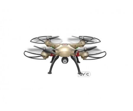 Квадрокоптер Syma X8HC Gold