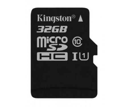 Карта памяти MicroSDHC 32GB UHS-I Class 10 Kingston Canvas Select (SDCS/32GBSP)