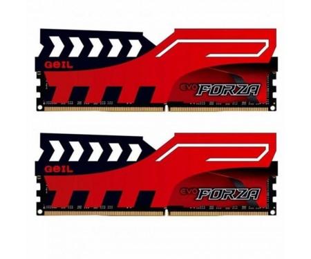 Модуль DDR4 2x4GB/2400 Geil EVO Forza Red (GFR48GB2400C16DC)