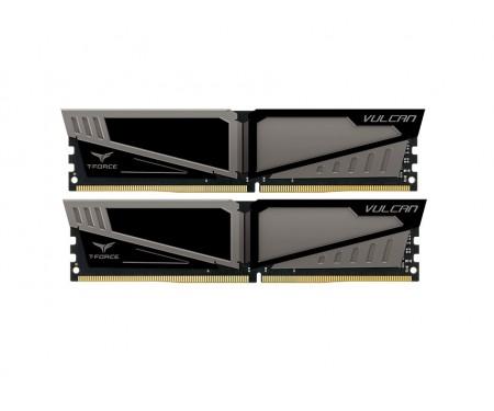 Модуль DDR4 2x4GB/2400 Team T-Force Vulcan Gray (TLGD48G2400HC14DC01)