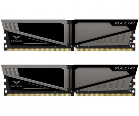 Модуль DDR4 2x8GB/3200 Team T-Force Vulcan Gray (TLGD416G3200HC16CDC01)