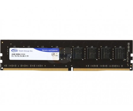 Модуль DDR4 4GB/2133 Team Elite (TED44G2133C1501)