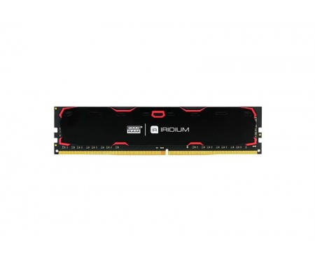 Модуль DDR4 8GB/2400 GOODRAM Iridium Black (IR-2400D464L17S/8G)