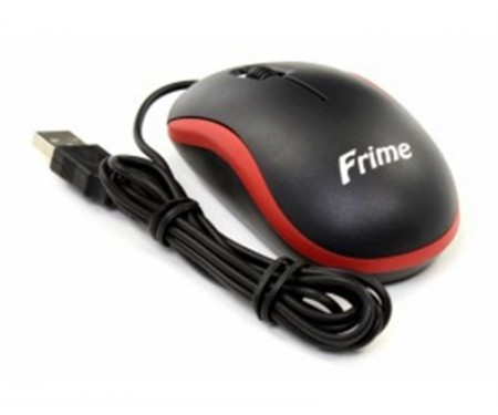 Мышь Frime FM-010 Black/Red USB