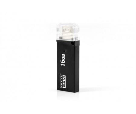 Флешка USB3.0 16GB OTG GOODRAM OTN3 (Twin) Black (OTN3-0160K0R11)
