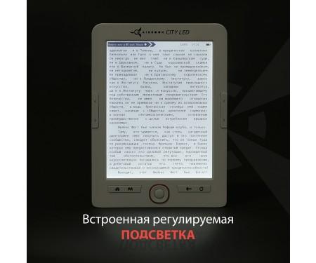 Электронная книга AirOn AirBook City LED Grey