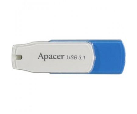 Флешка Apacer 16GB AH357 Blue USB 3.1 (AP16GAH357U-1)
