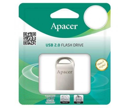 Флешка Apacer 32GB AH115 Silver USB 2.0 (AP32GAH115S-1)