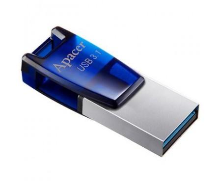 Флешка Apacer 32GB AH179 Blue USB 3.1 OTG (AP32GAH179U-1)