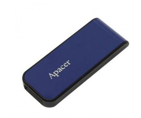 Флешка Apacer 32GB AH334 blue USB 2.0 (AP32GAH334U-1)